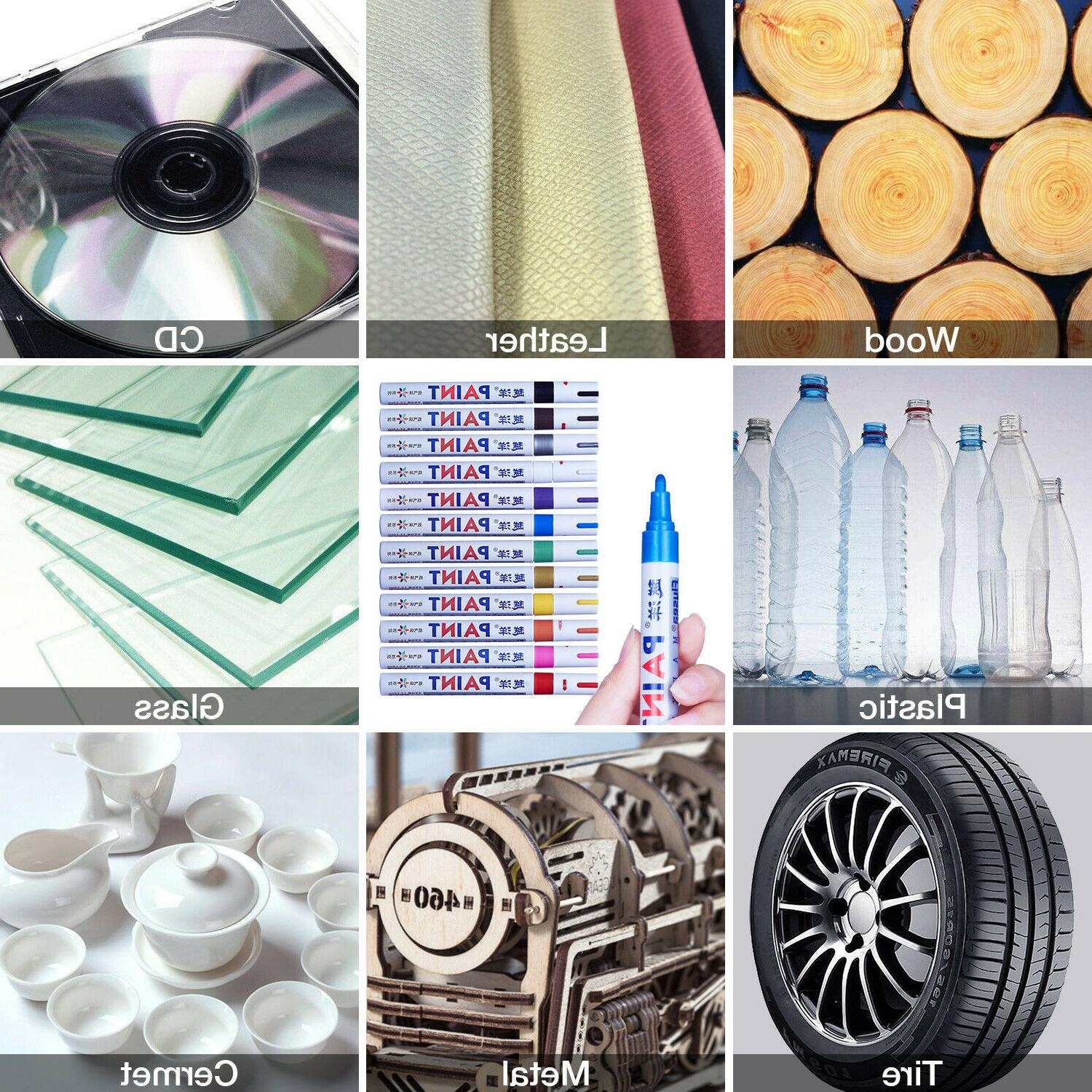12Pcs Marker For Tyre Metal