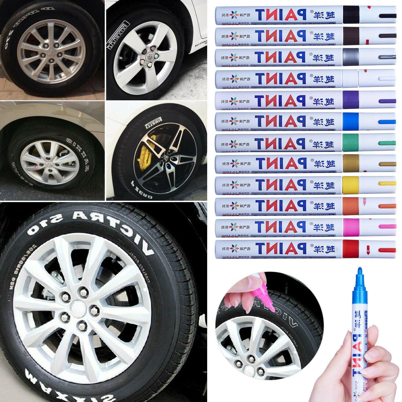 12Pcs Paint Marker Tyre Tire