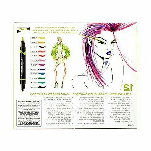 Prismacolor Double-Ended Art Markers, Brush