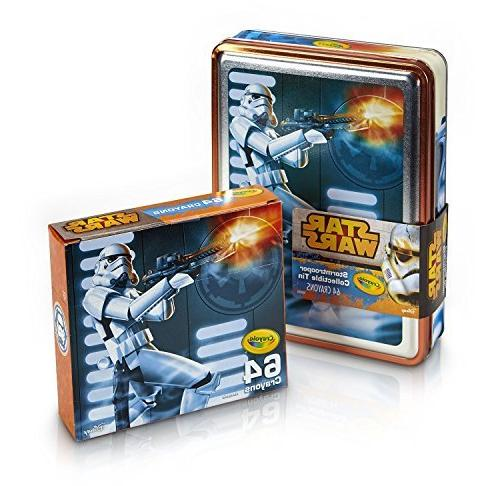 2 PACKS: Crayola Star Wars Storm Trooper Collectible 64 Coun