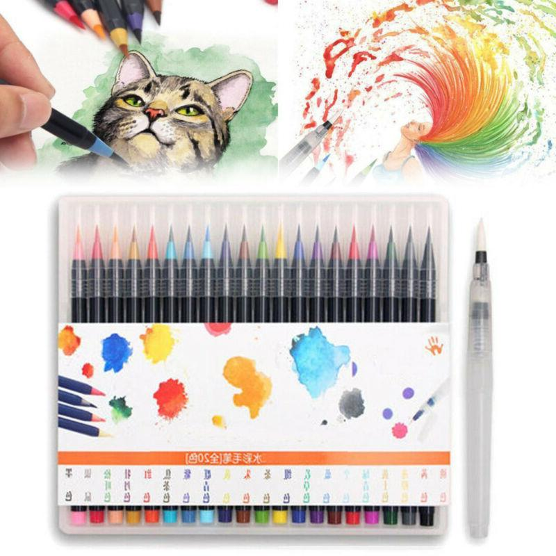 20 Colors Painting Manga Marker Set