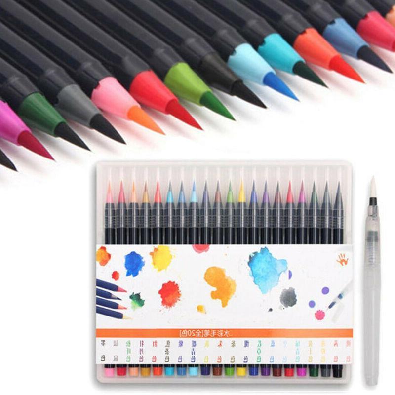 20 Painting Brush Manga Pen