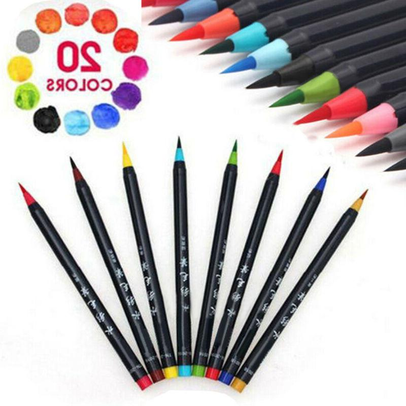 20 Painting Sketch Manga Marker Pen Set