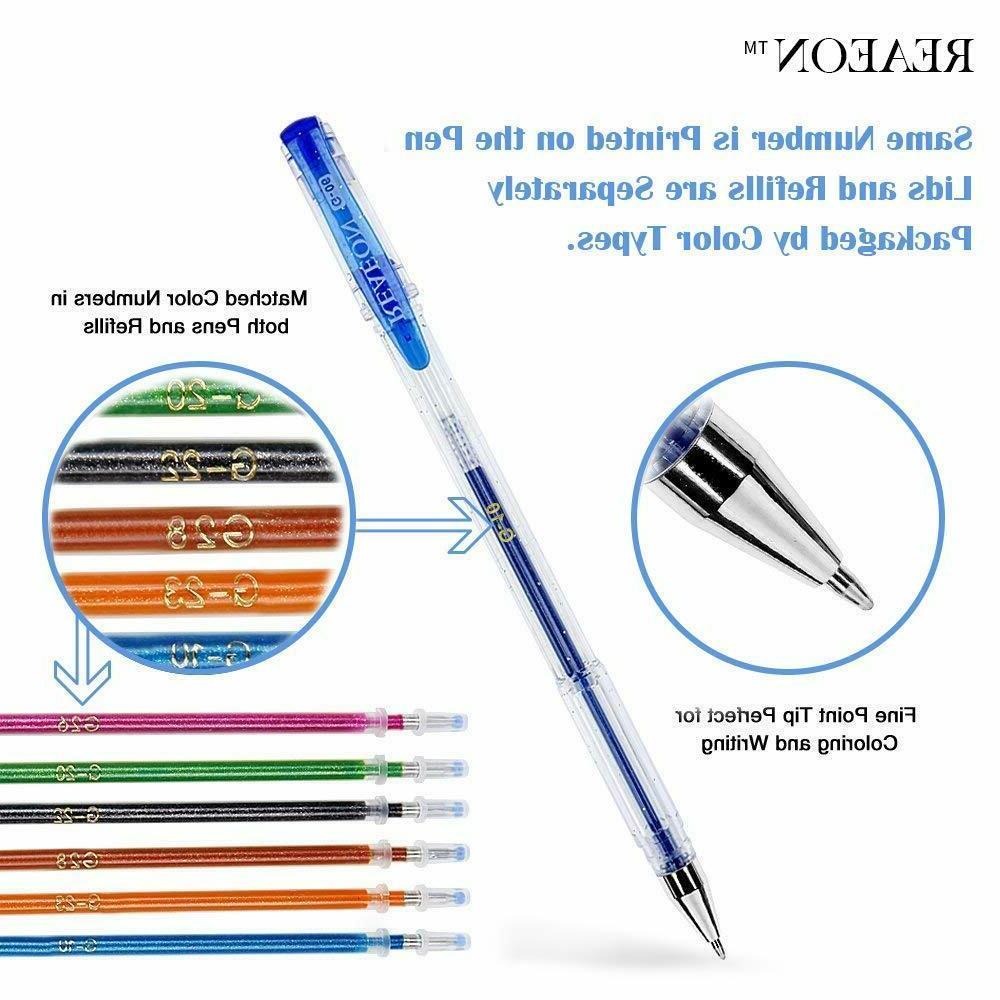 200 Set, 100 Plus 100 Neon Pen