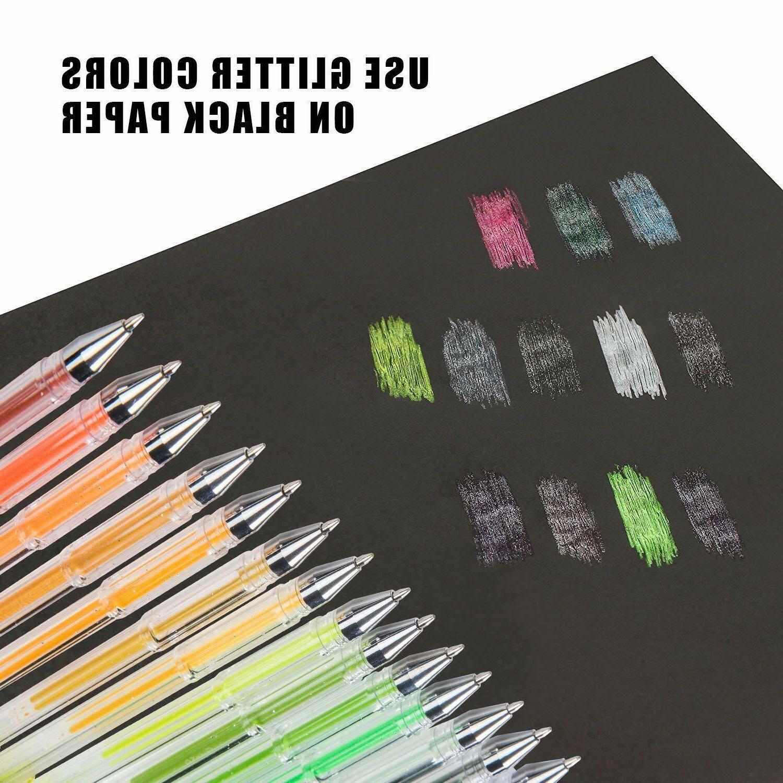 Set, Gel Markers Plus 100 Neon