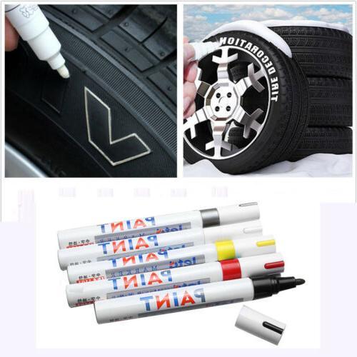 2Pcs Universal Waterproof Paint Marker Pen Tyre Tire Tread