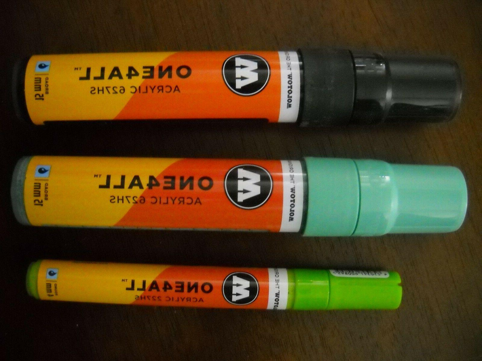 3 15mm one4all acrylic paint markers signal