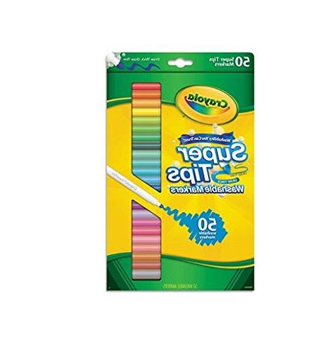Crayola 585050 Washable Tips with Silly Scents,