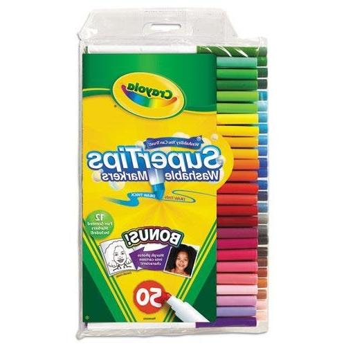 585050 washable super tips markers