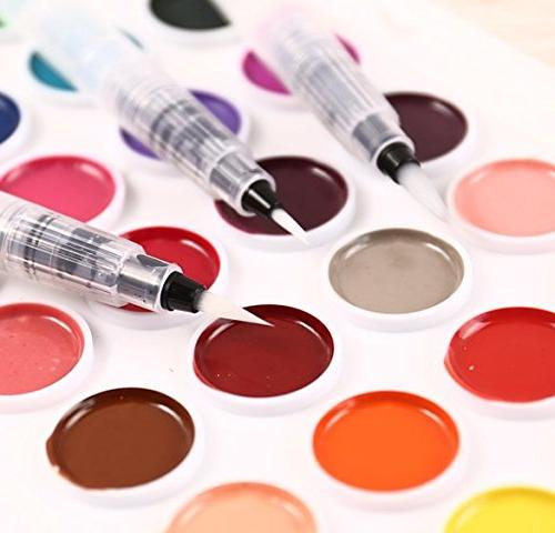 6 Colors Markers Pens Set Paint Broad Fineliners