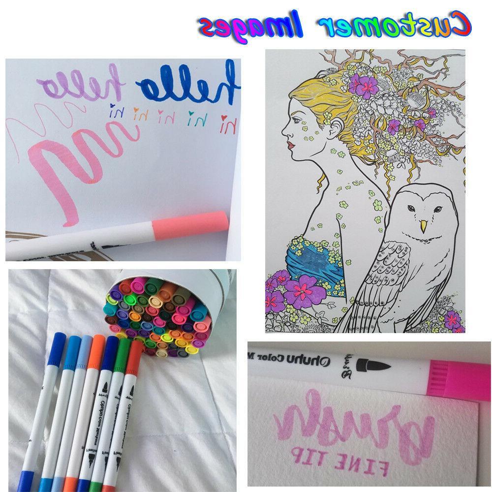 60PCs/Set Soft Sketch Pen Set Drawing