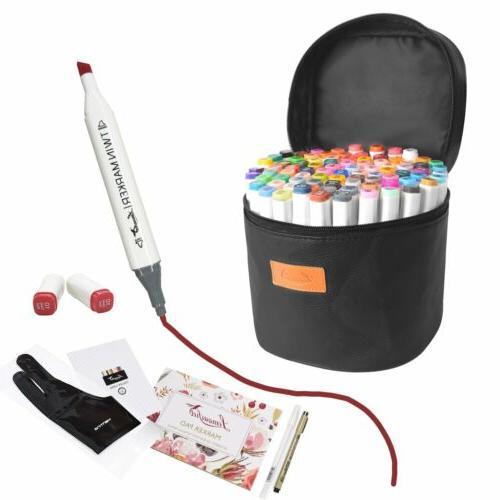 80 color set markers pen touch five
