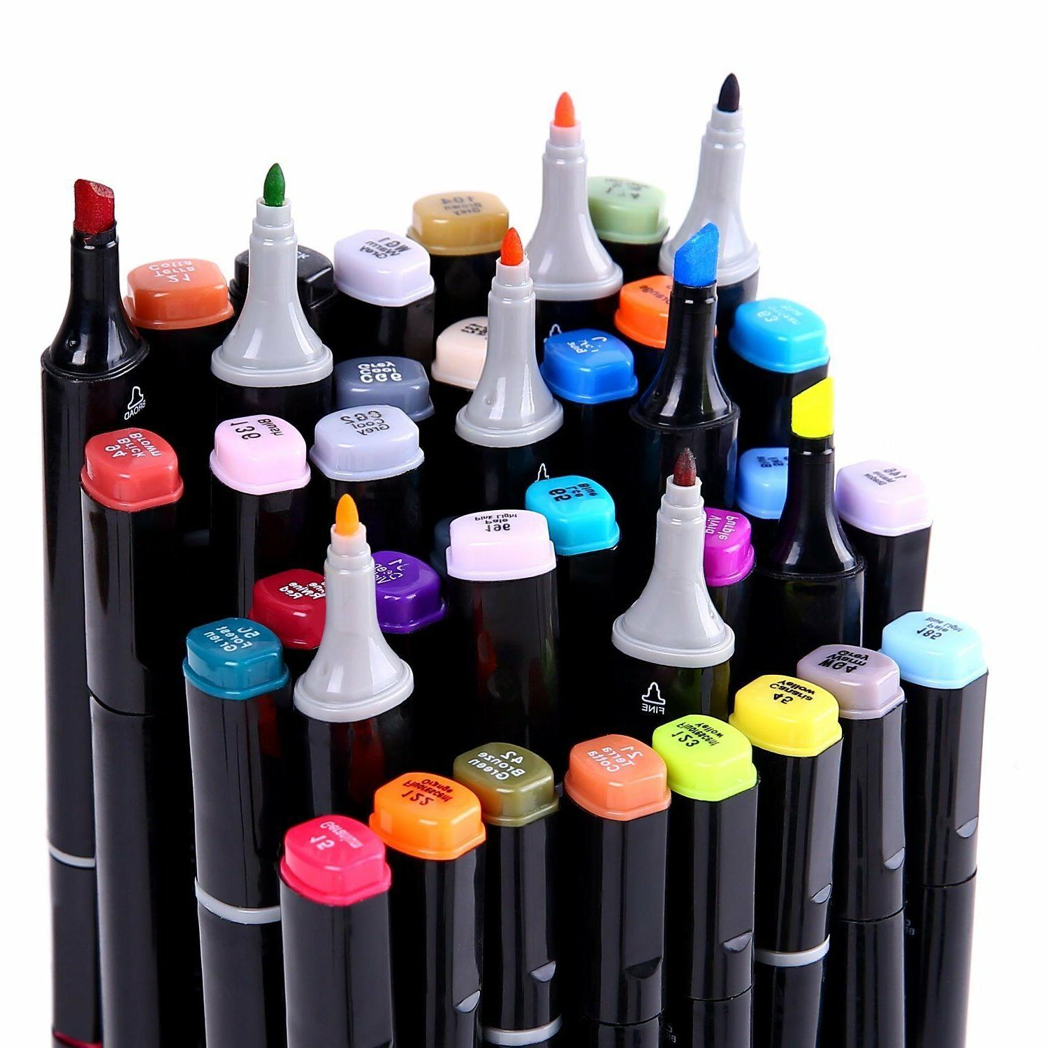 Ohuhu Tip Brush Marker Pens for Coloring Drawing