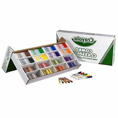 Crayola 256ct. Large Size Crayons & Ultraclean Washable Mark