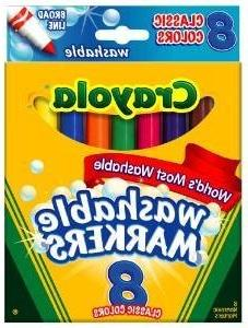 Crayola 587808 Ashable Markers, Classic