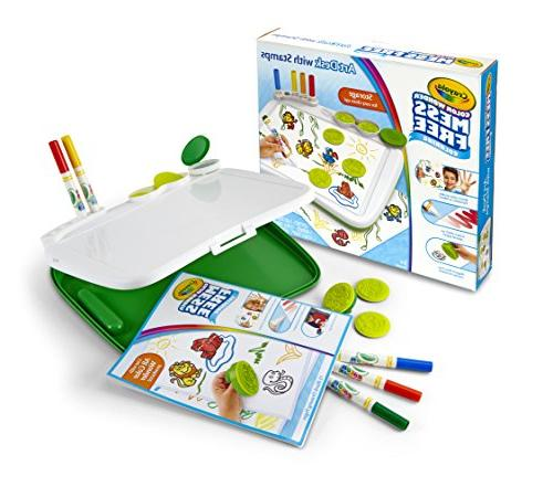 Crayola, Color Wonder Mess-Free Coloring, Art Desk with Stam
