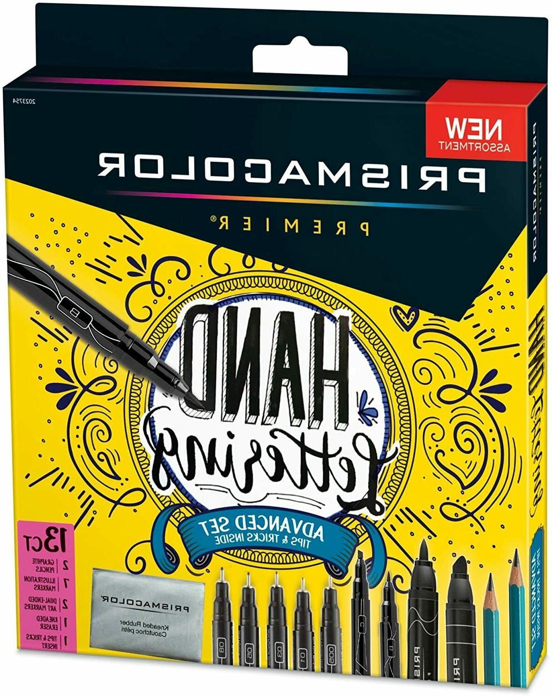 Prismacolor 2023754 Premier Advanced Hand Lettering Set with