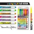 Set of 6 Accu-Gel Bible Book Hi-Glider Highlighters Won't Bl