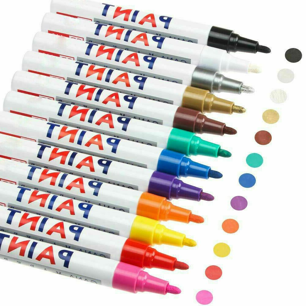 Acrylic Paint Markers Set Tip Art Permanent