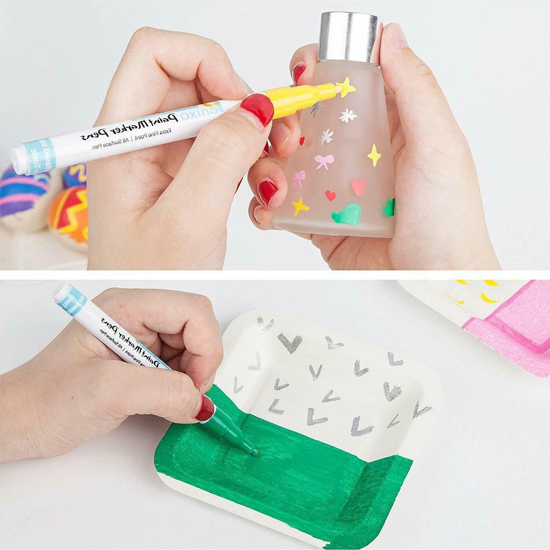 Acrylic Pens-Set 12 Markers Extra Fine DIY