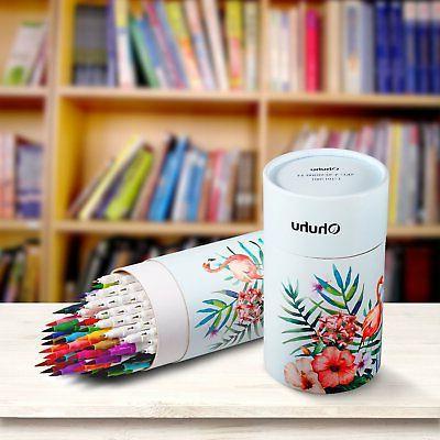 Ohuhu Markers Dual Tips Brush Pen&Fineliner Set