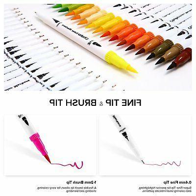 Ohuhu Markers Brush Set