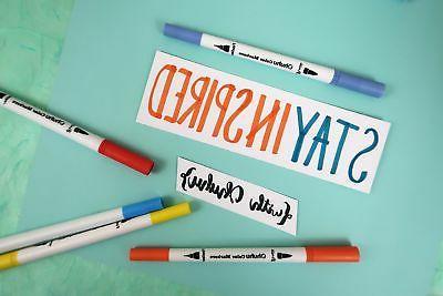 Ohuhu 60 Markers Dual Tips Brush Color Pen Set