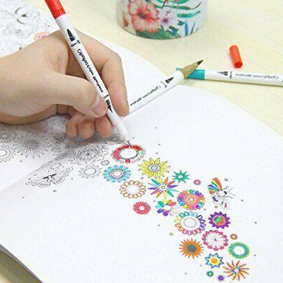 Art Markers Tips Colouring Fineliner Pens Highlighter