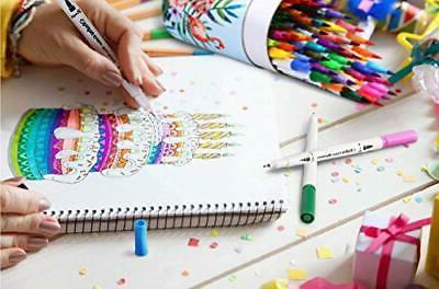 Art Dual Tips Colouring Pens 60 Colours