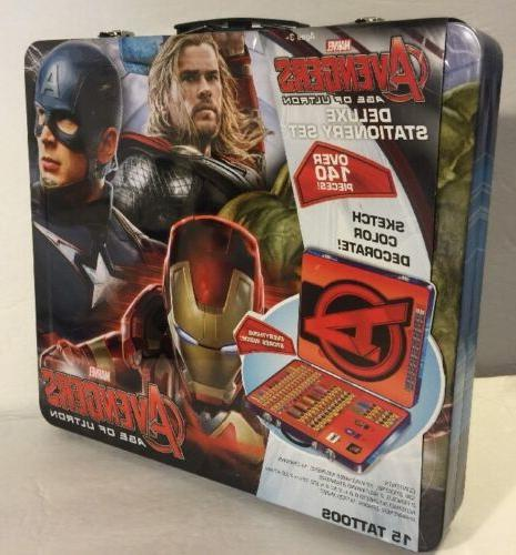avengers age ultron deluxe stationery
