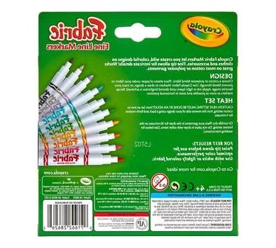 Crayola 588215 Fabric Classpack, 80 markers Set different
