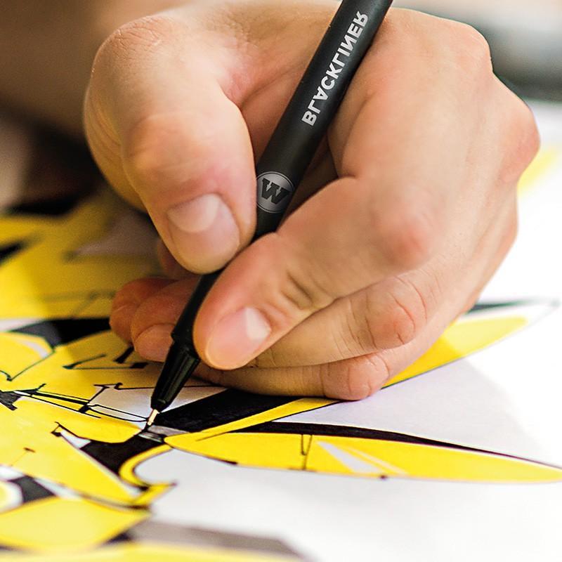 Molotow Outline Brush, OR 30mL Refill Graffiti Art