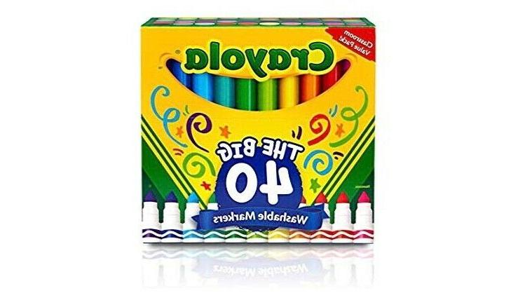 broad line ultra clean washable markers 40