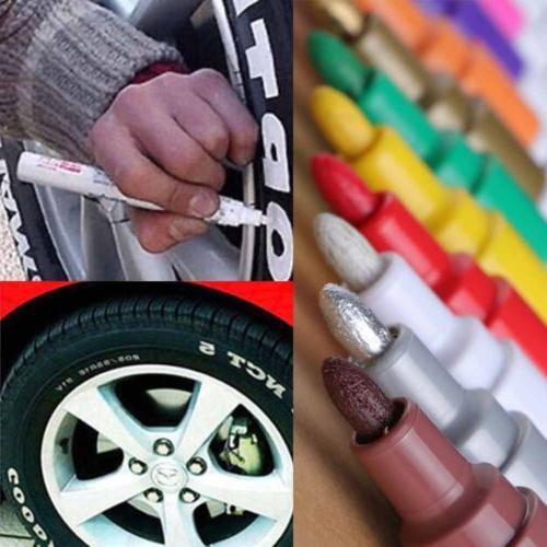 12 Colors Universal Permanent Paint Pen Oil Marker for Car T