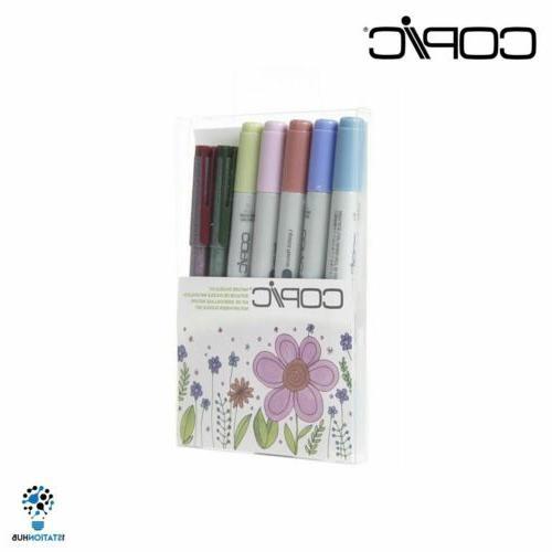 Copic Marker Doodle Kit | Drawing 7pc Art Set