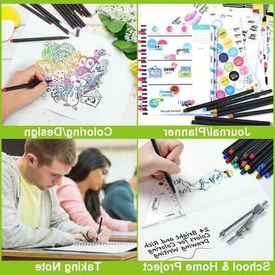 Colored Bullet Journal Fine Pen Fineliner for