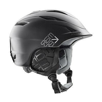 consort men s helmet black white or