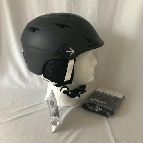 consort ski snowboard helmet gray small 51