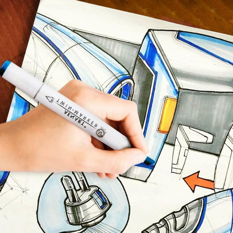 Dual Set Markers Pen