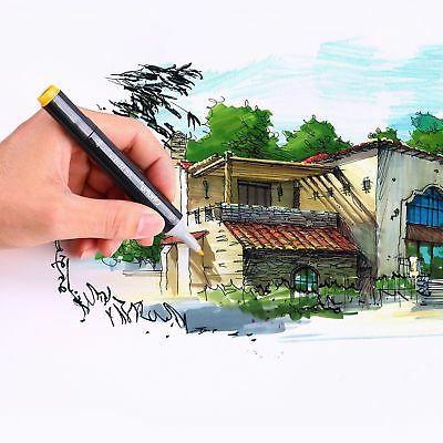 Twin Ohuhu 60/80/100 Permanent Art Sketch Tips