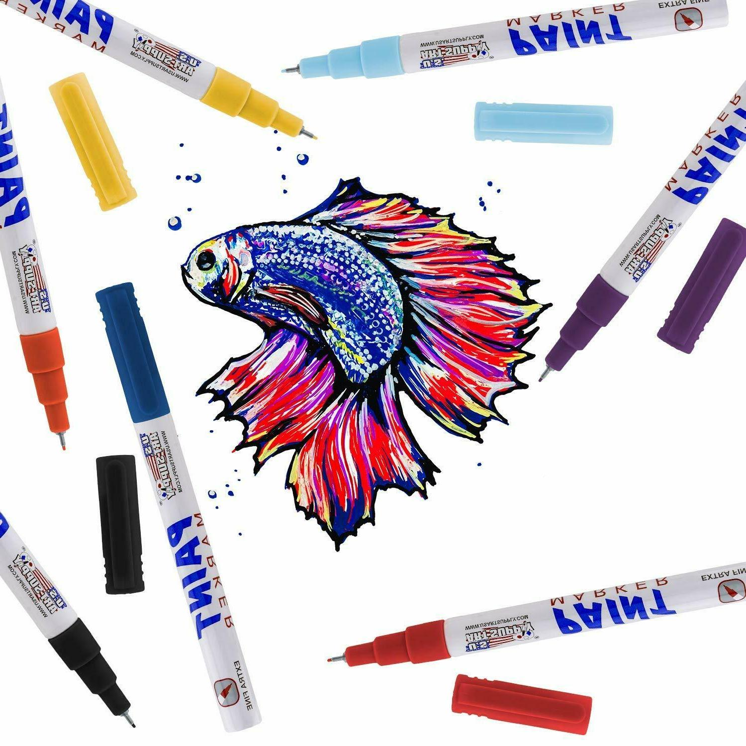 Paint Marker Extra Fountain Pen 18 Color
