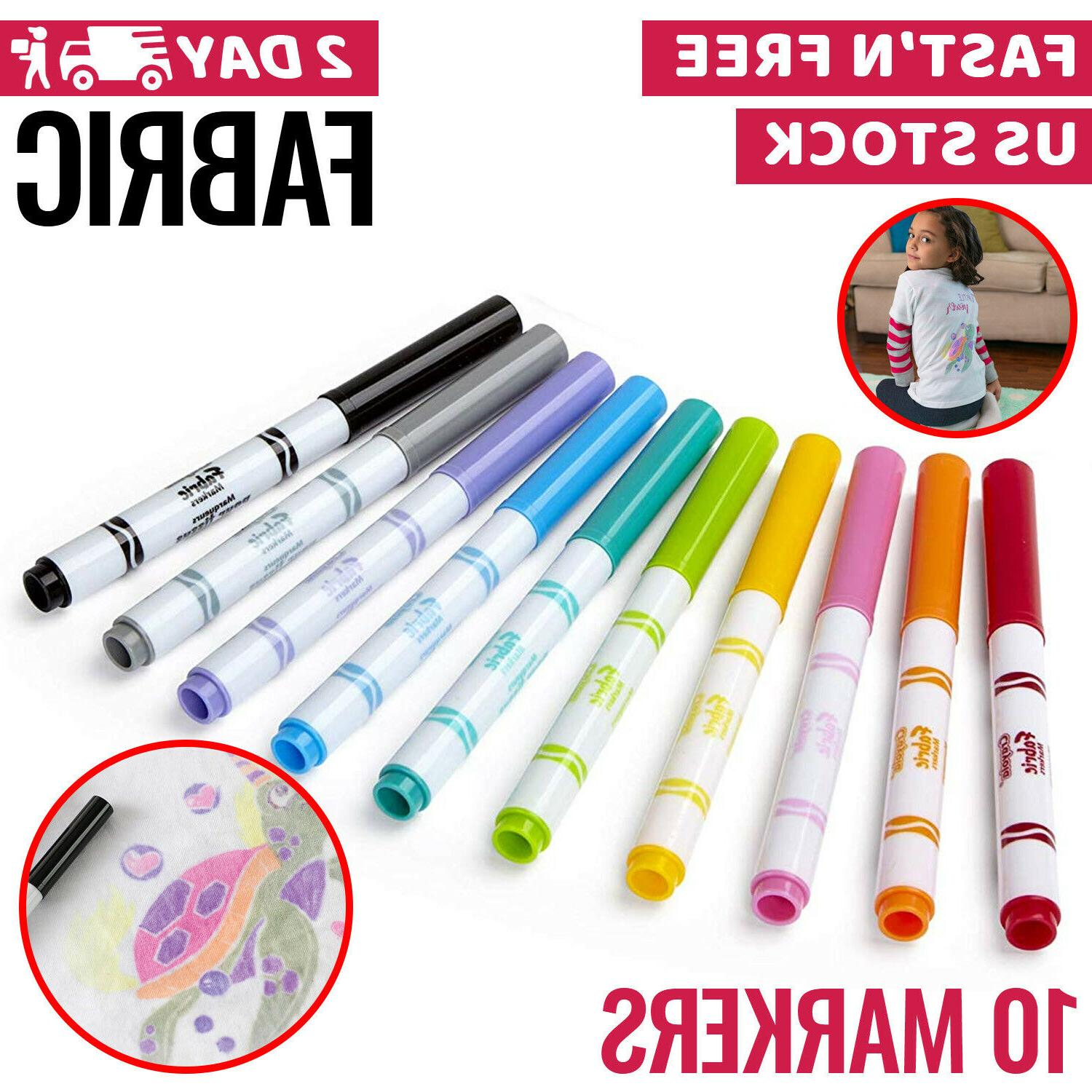fabric markers permanent pens paint clothing textile