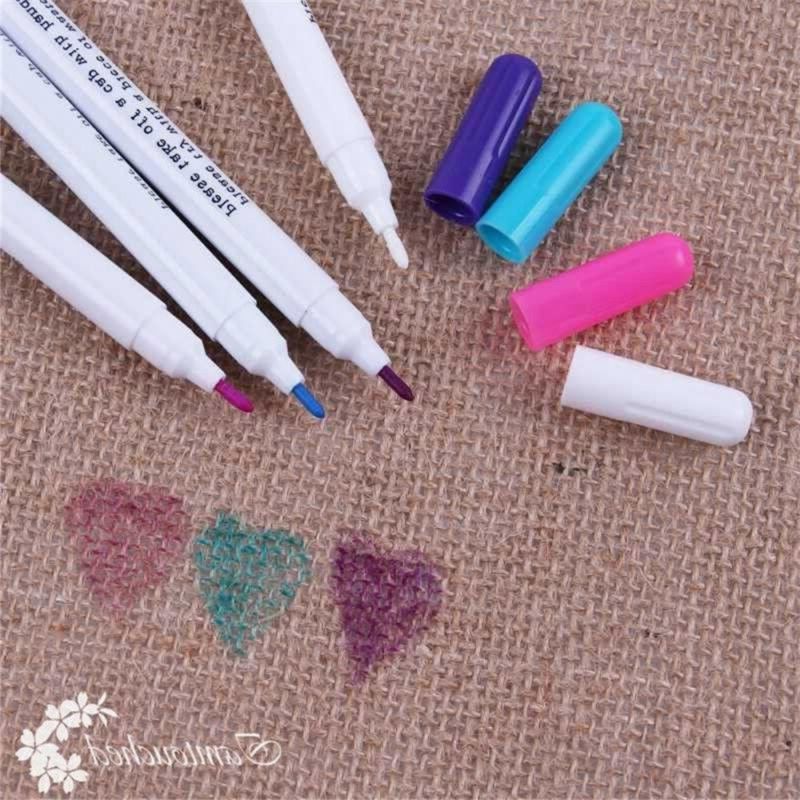 Fabric Pens Clothes Crafts Graffiti