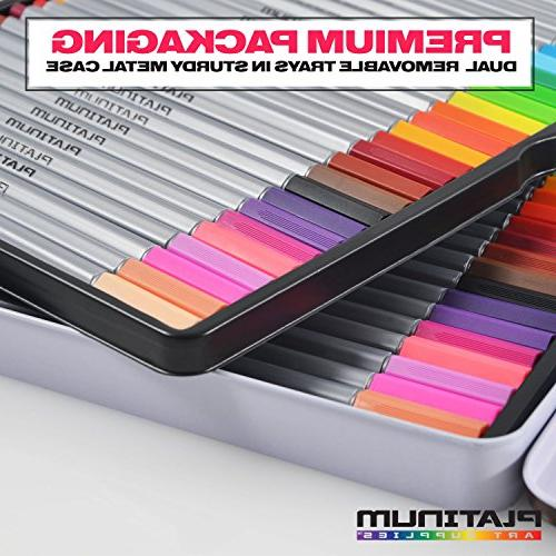 Fineliner Color Colorful Fine Felt Individual for Drawing & Coloring