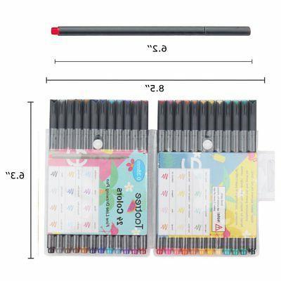 24 Colors Set Drawing Bullet