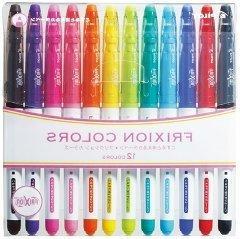 Pilot Frixion Colors Erasable Marker - 12 Color set /Value s