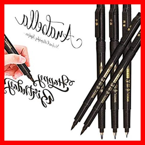 hand lettering pens calligraphy pen brush markers