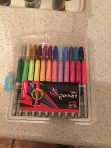 intensity fashion permanent markers fine point assorted