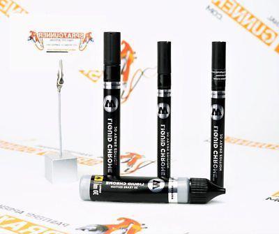 liquid chrome pump marker 1mm 2mm 4mm