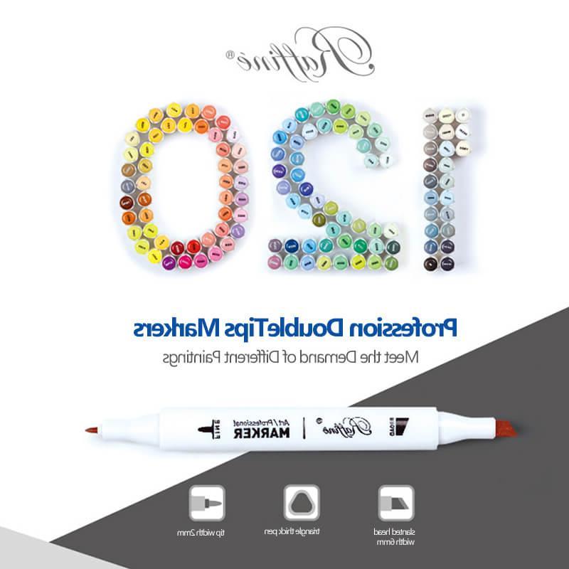Marco Alcohol Based Professional <font><b>Markers</b></font> Set Pens